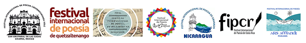 Logos festivales de poesia centroamericana