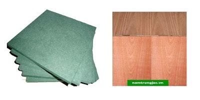mdf chống ẩm phủ veneer Xoan Đào