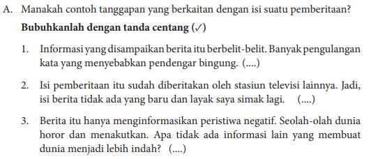 Jawaban Kegiatan 1.5 Bahasa Indonesia Kelas 8 Hal 11 ...