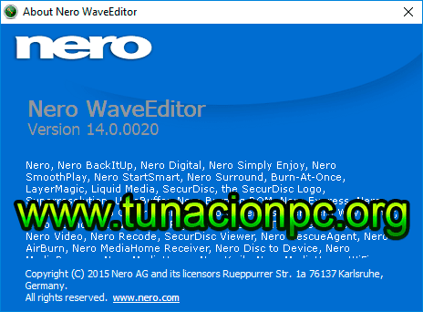 Nero WaveEditor Portable