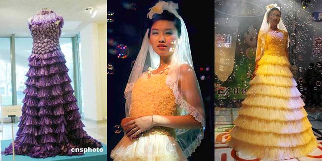 """""""J"""" Wedding Organizer: Gaun Pengantin Unik dan Aneh..."""