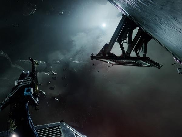 Start a spacewalk into the dark