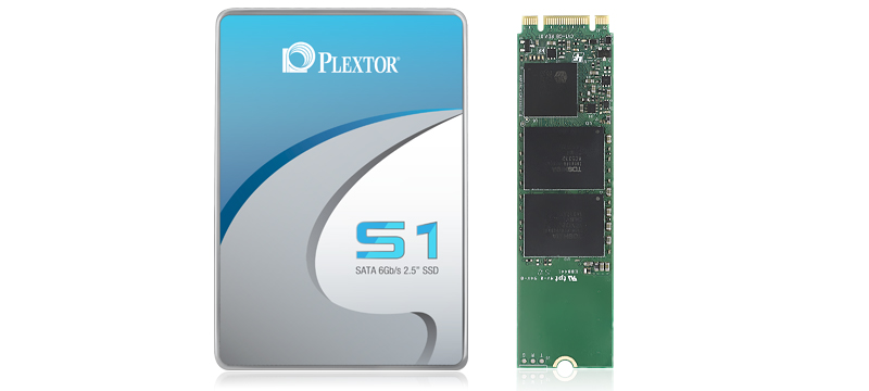 Plextor Launches the S1 Series