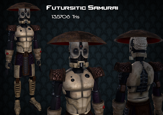 Samurai Robot Project : Completed