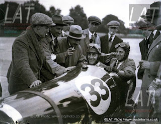 Wilson Jones at Brooklands 1925