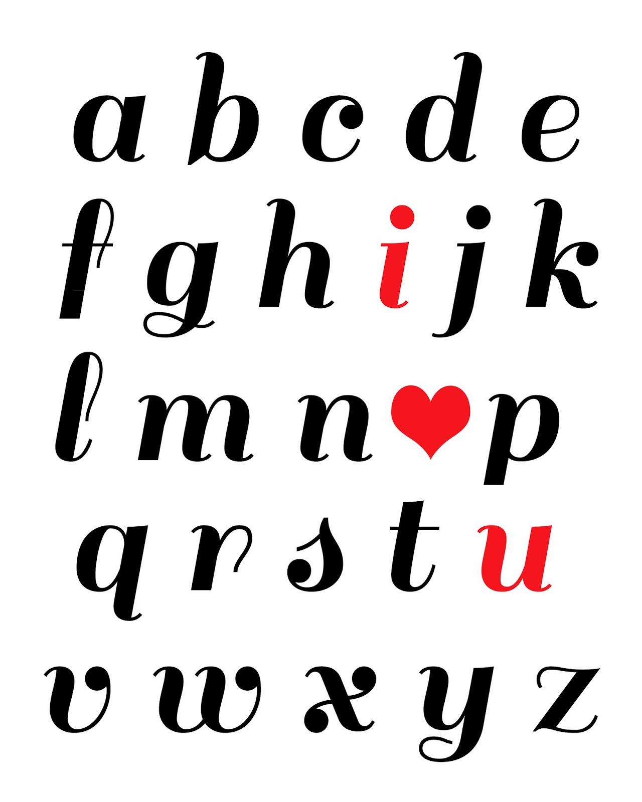 Gloriously Made Abc I Love U