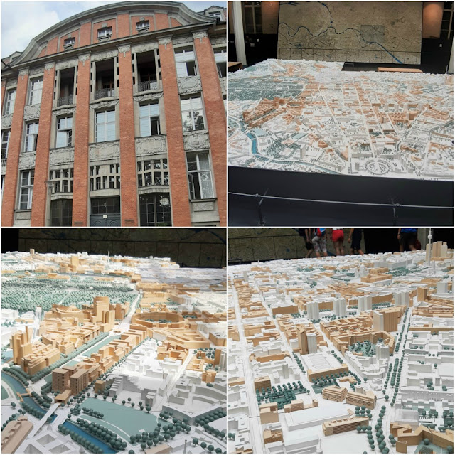 "Grátis em Berlim - Maquetes de Berlim - City Models of Berlin ""Urban Development - Plans, Models, Projects"""