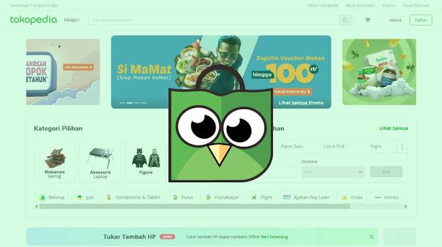 Toko online tokopedia terbaik di Indonesia