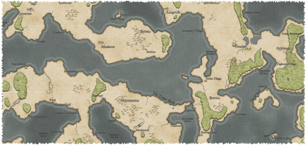 here dragons abound continent maps part 3 land shapes