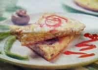 Resep  Omlet Isi Toge Vegetarian