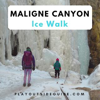 playoutsideguide.com - Magical Maligne Canyon Ice Walk