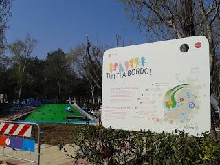 """Rimini - Inaugurazione Area giochi inclusiva """"Tutti a bordo!"""""""