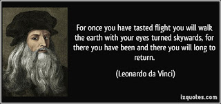 Leonardo da Vinci Quotes About Aviation