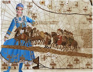 Marco Polo y el dulce encargo del emperador, el traslado de la princesa Kököchin al Ilkanato de Persia.