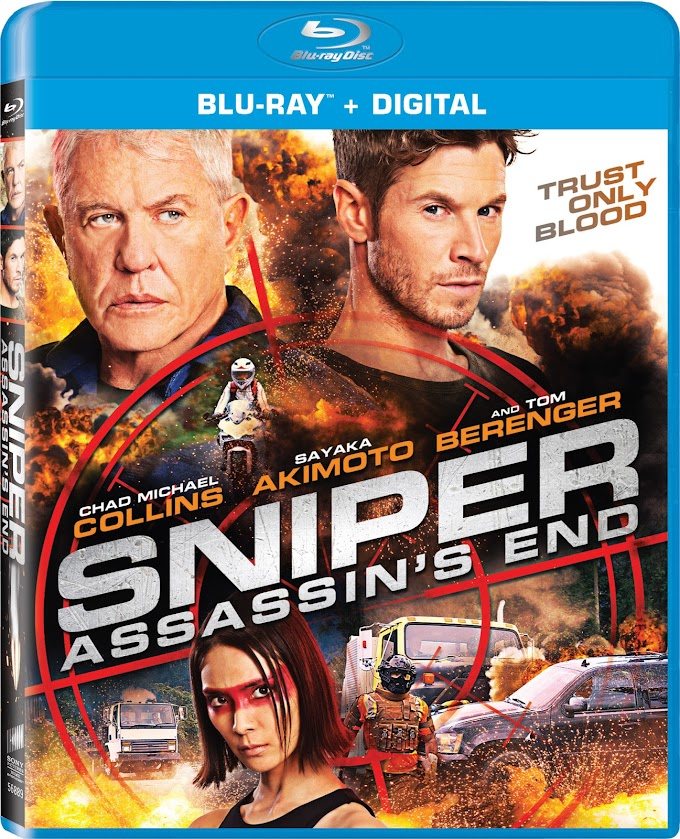 Sniper: Assassin's End Coming To Blu-ray, DVD and Digital on June 16th! (Sony Pictures)
