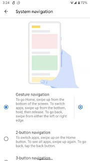 Gestures - 4 Latest Android Q features