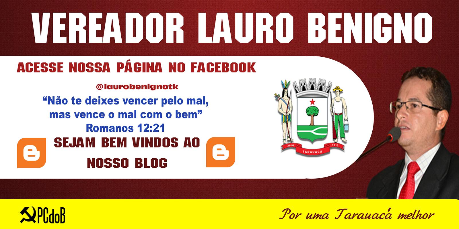 Vereador Lauro Benigno