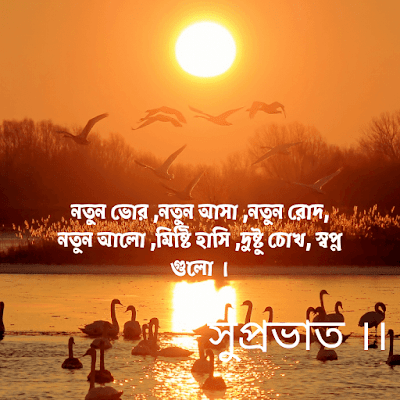 Morning Wishes in Bengali