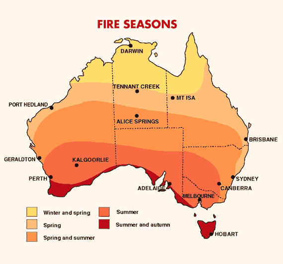 Aoede Fire Seasons In Australia