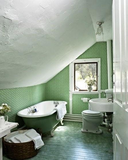 Attic Bathroom: ArchiTalk: Attic Baths: Cramped, Or Creative?