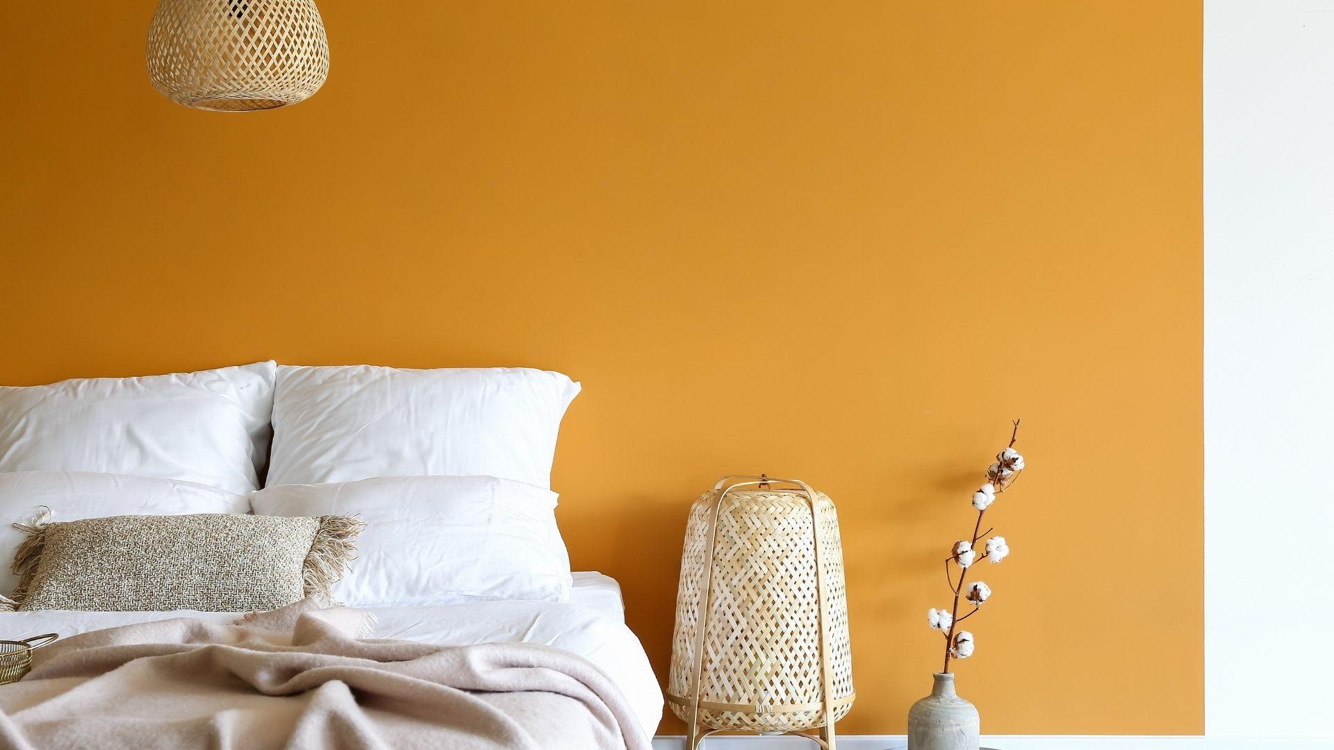 żywy kolor do sypialni