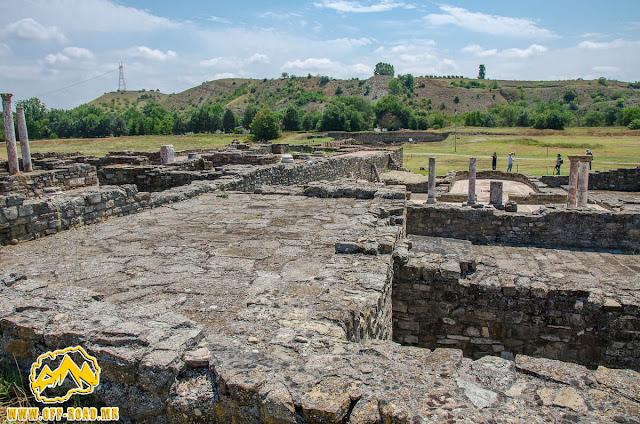 THE HOUSE OF POLYCHARMOS #Stobi Archaeological site #Macedonia