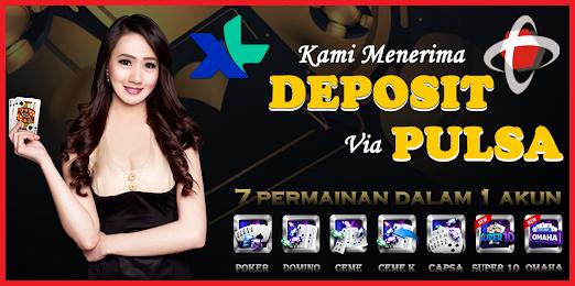 Situs QQ Poker Pkv Deposit via Pulsa Pakai Telkomsel