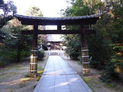 交野天神社 三の鳥居
