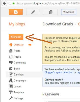 Cara Membuat Postingan SEO Friendly di Blogger Terbaru