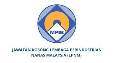 Jawatan Kosong Lembaga Perindustrian Nanas Malaysia 2019 (LPNM)