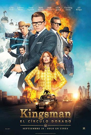 Kingsman: The Golden Circle 2017 Dual Audio ORG Hindi 480p BluRay 500MB ESubs poster