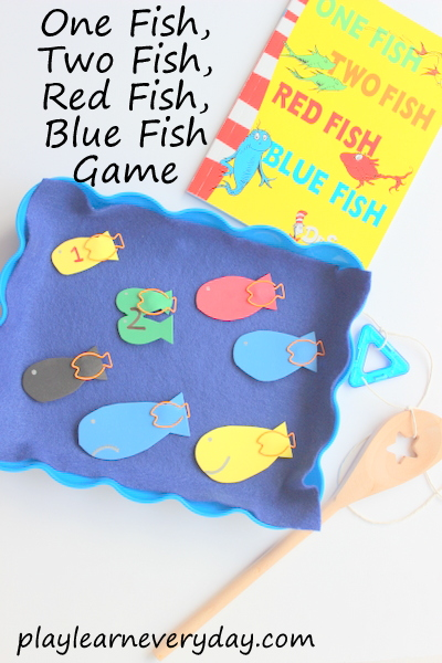 One fish two fish red fish blue fish game play and for One fish two fish red fish blue fish activities