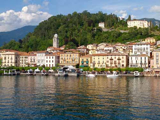 Town Leno Lake Como Italy