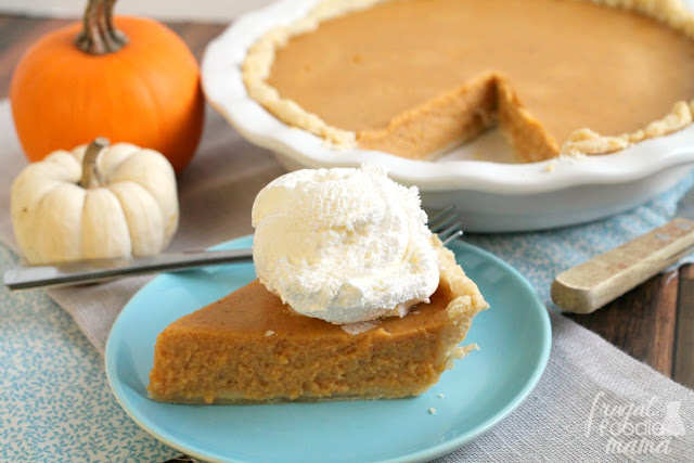 This perfectly spiced & tangy Triple Spice Pumpkin Buttermilk Pie is about to replace your traditional pumpkin pie.