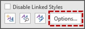 Menampilkan Style Tertentu di Panel Style