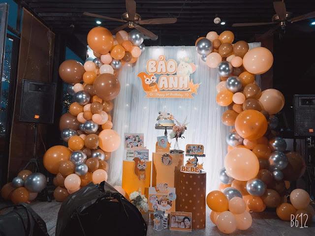 thuê trang trí sinh nhật tại hà nội