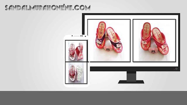 Wedges Anak CPC - Sandal Lucu Karakter Hellokity
