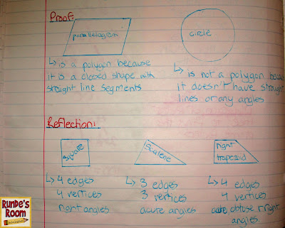 math journals, interactive notebooks, 2D Geometry, polygons