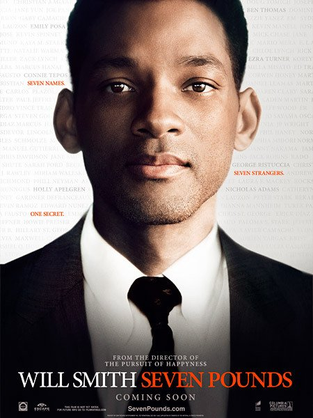 Poster of Seven Pounds 2008 720p Hindi BRRip Dual Audio Full Movie Download