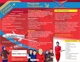 Sekolah Pramugara Makassar Berasrama dan Sedang Buka Pendaftaran