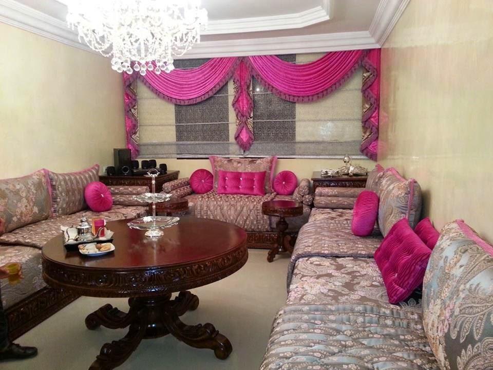 boutique salon marocain 2018 2019 decoration rideaux. Black Bedroom Furniture Sets. Home Design Ideas