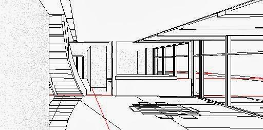 REVIT y AutoCAD Civil 3d : ejemplo de casa en revit