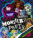 Monster High Monster Party Book Item