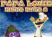 Papa Louie Night Hunt 2 juego
