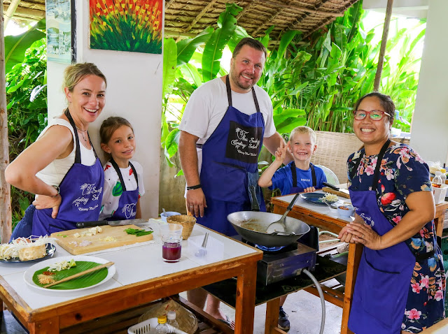 Thai Secret Cooking Class and Organic Garden. Chiang Mai, Thailand.