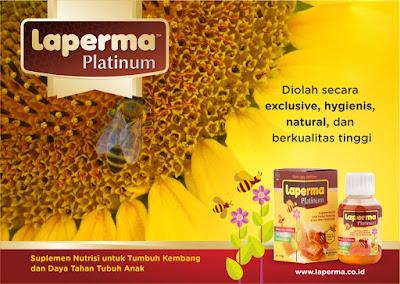 Suplemen Nutrisi Laperma Platinum