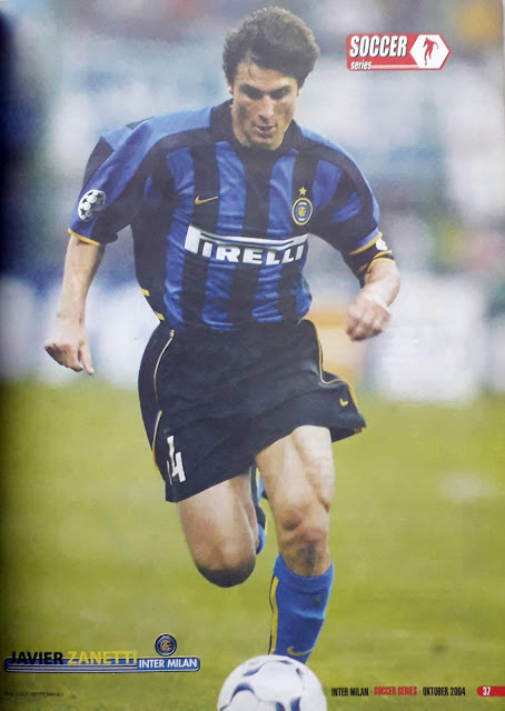 JAVIER ZANETTI OF INTER MILAN