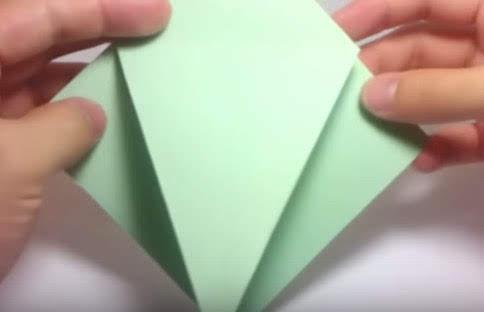 Cách gấp con vẹt bằng giấy