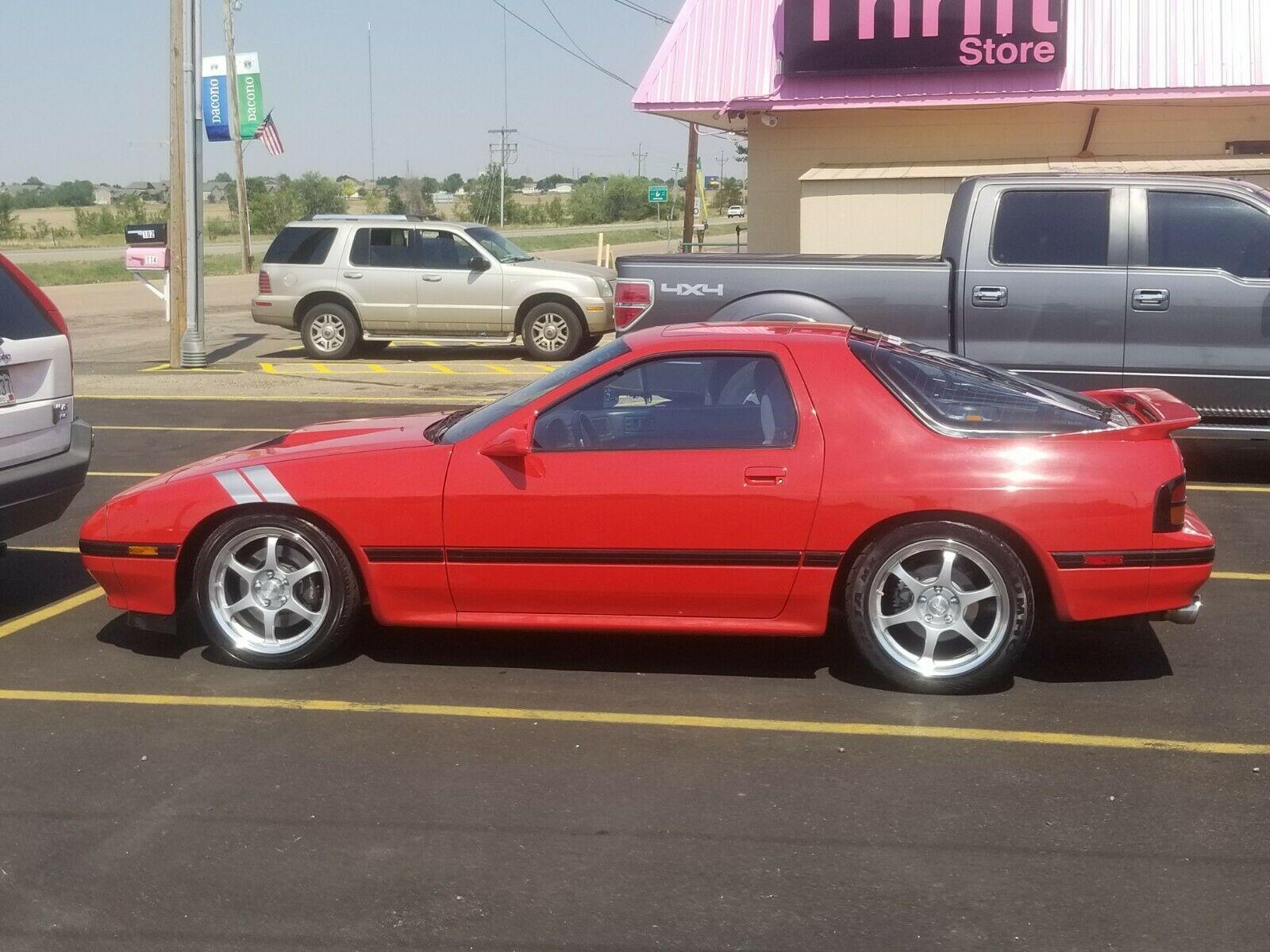 LS V8 6-Speed Swap: 1988 Mazda RX-7