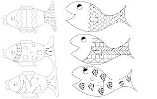 poissons d'avril à télécharger imprimer coloriage gratuit